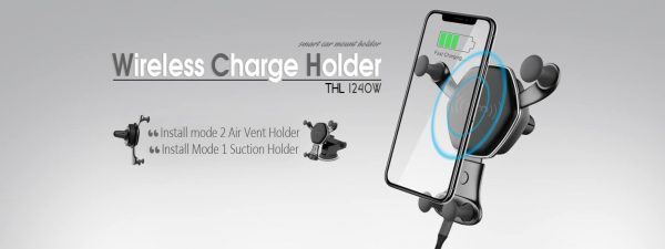 CHARGER CAR & HOLDER TSCO THL-1240W