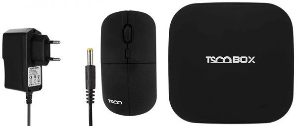 ANDROID TV BOX TAB 100 PLUS+MOUSE