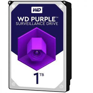 هارددیسک اینترنال وسترن دیجیتال مدل HDD 1TB Purple WD10PURZ