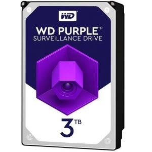 هارددیسک اینترنال وسترن دیجیتال مدل HDD 3TB Purple WD30PURZ