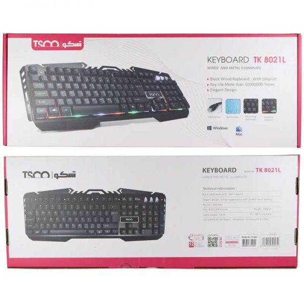 کیبورد گیمینگ تسکو Keybord TSCO TK-8021