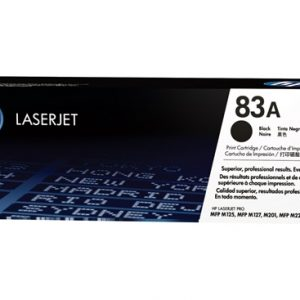 تونر کارتریج لیزری مشکی مدل Cartridge Toner 83A LaserJet