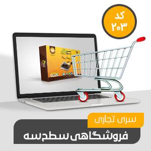 حسابداری فروشگاهی محک کد203