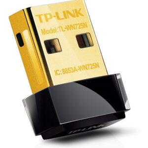 کارت شبکه وایرلس تیپیلینک مدل WIRELESS USB TL-WN725N